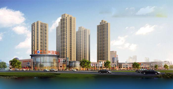 五洲国际广场二期工程